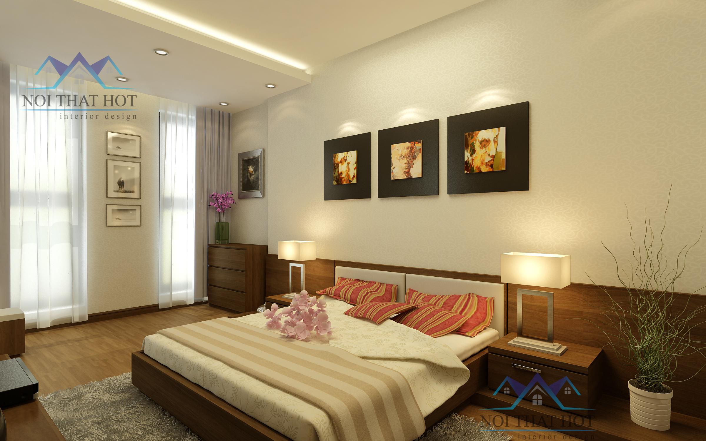 thiết kế nội thất chung cư chuyên nghiệp thiết kế phòng ngủ đẹp
