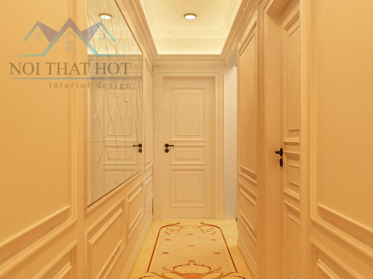 thiết kế nội thất chung cư, thiết kế phòng khách sang chảnh