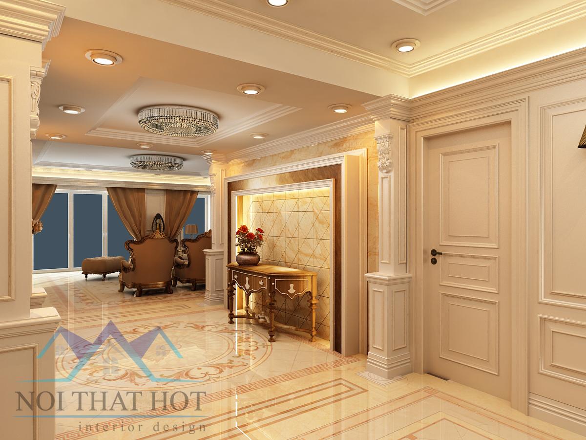 thiết kế phòng khách chung cư hoàn hảo nhát