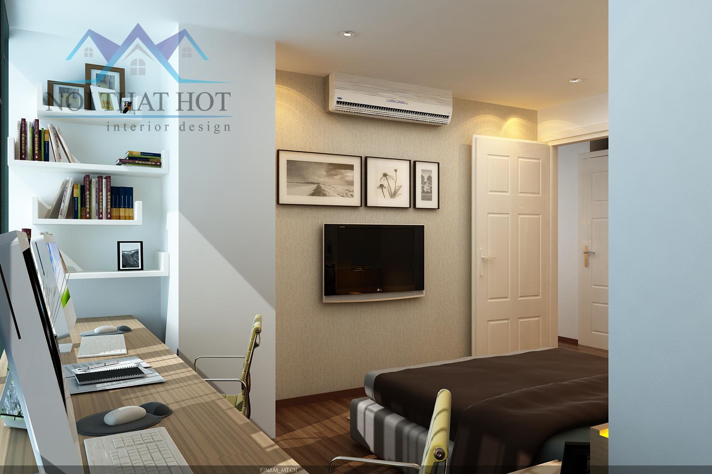 thiết kế phòng ngủ, thiết kế chung cư