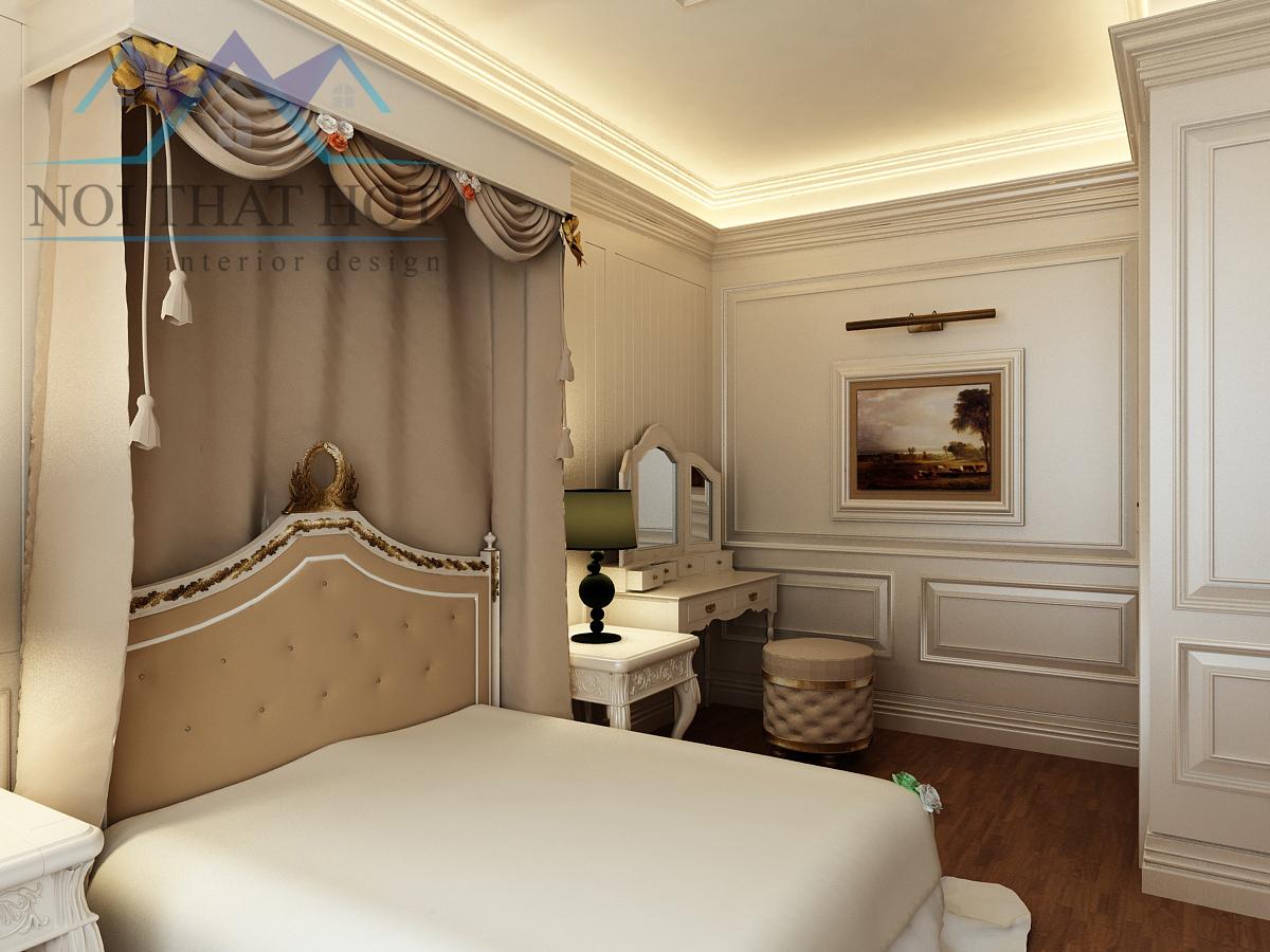 thiết kế căn hộ chung cư đẹp, thiết kế phòng ngủ