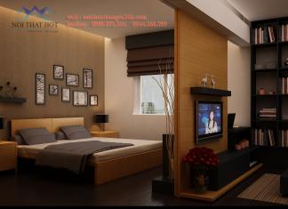 Thiết kế nội thất chung cư đẹp hoàn thiện