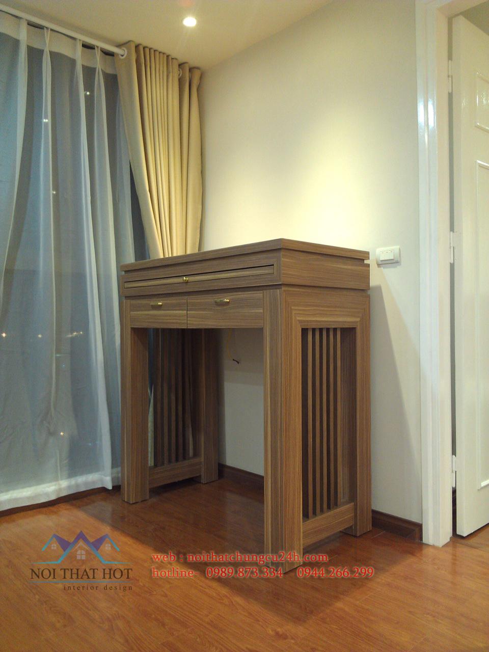 thiết kế nội thất chung cư tinh tế, sang trọng