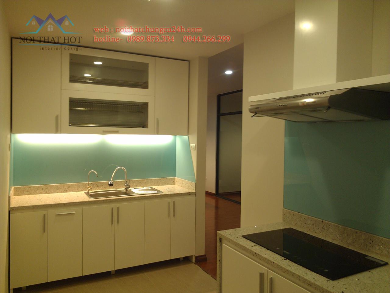 thiết kế nội thất chung cư, khu nhà bếp