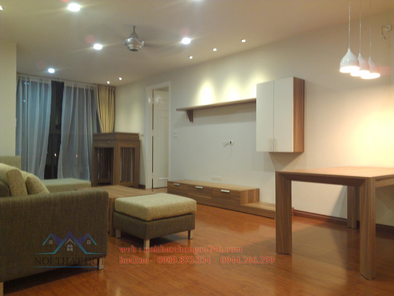 thiết kế nội thất chung cư xa lo hà đông