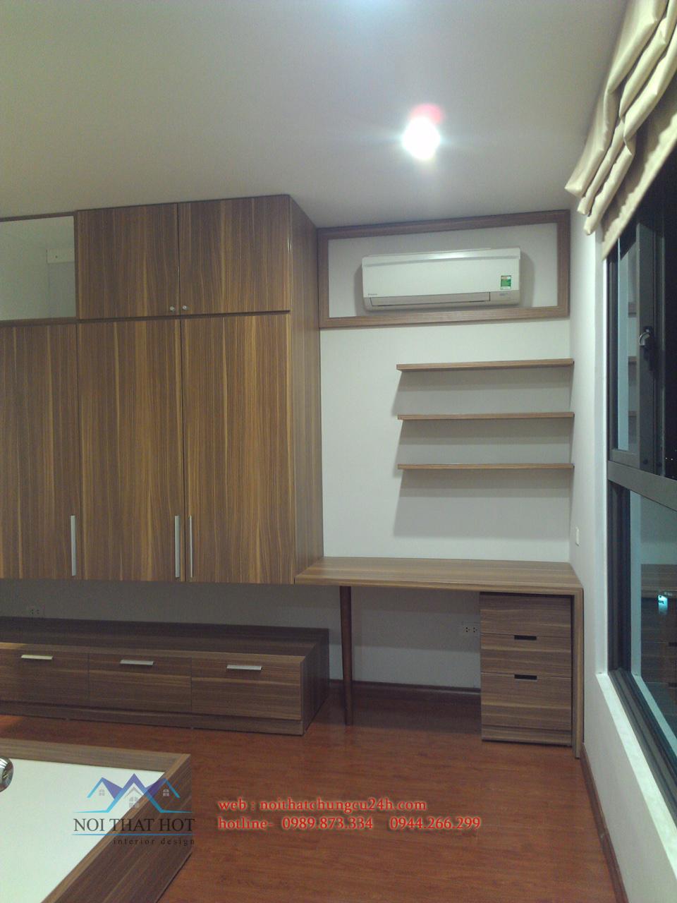 phòng ngủ trong thiết kế nội thất chung cư đẹp