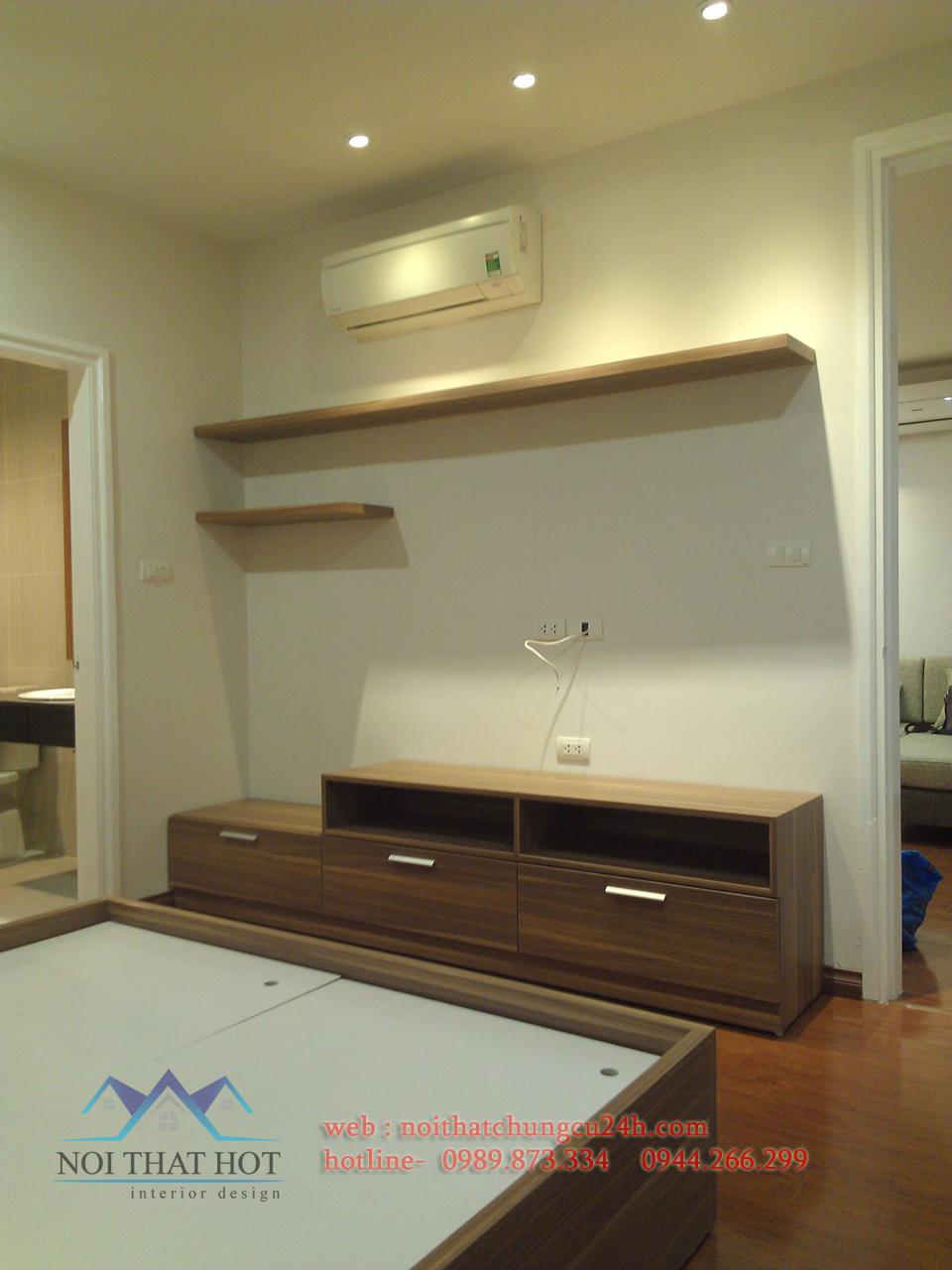 nội thất chung cư hiện đại với diện tích nhỏ