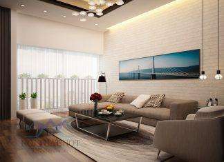 Thiết kế căn hộ chung cư hai phòng ngủ