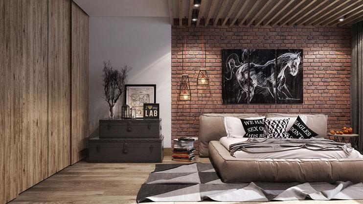 thiết kế nội thất phòng ngủ, thiết kế nội thất chung cư
