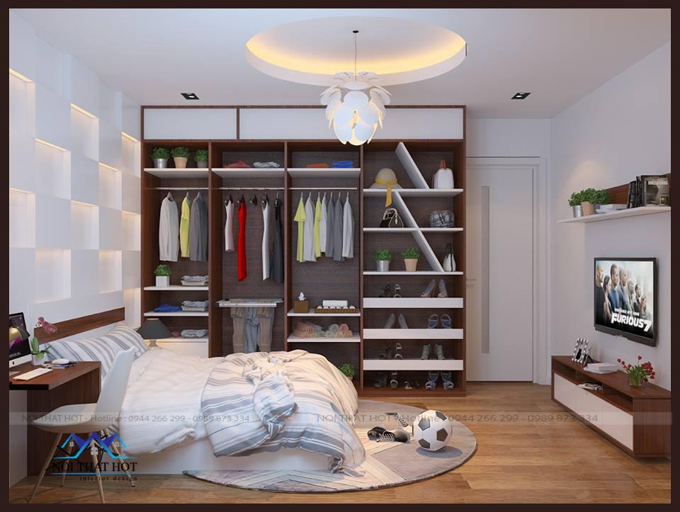 thiết kế căn hộ chung cư 70m2 tại phường linh đàm, đại kim